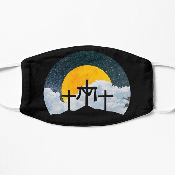 Moonlit Cross Flat Mask
