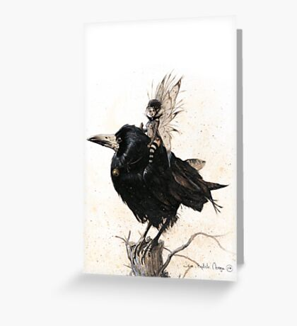 Queen Mab Greeting Card
