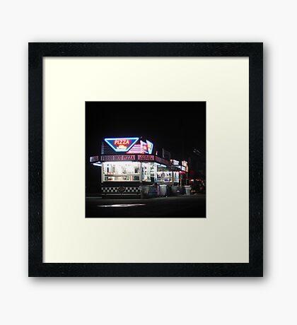 Nighttime @ The Fair Framed Print