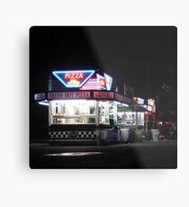 Nighttime @ The Fair Metal Print