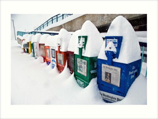 It Snowed in Manassas by Dan Phelps