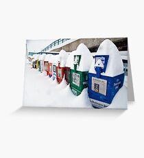 It Snowed in Manassas Greeting Card