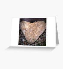 Heart Doorstop Greeting Card