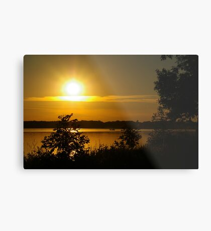 Onondaga Lake Sunset Metal Print
