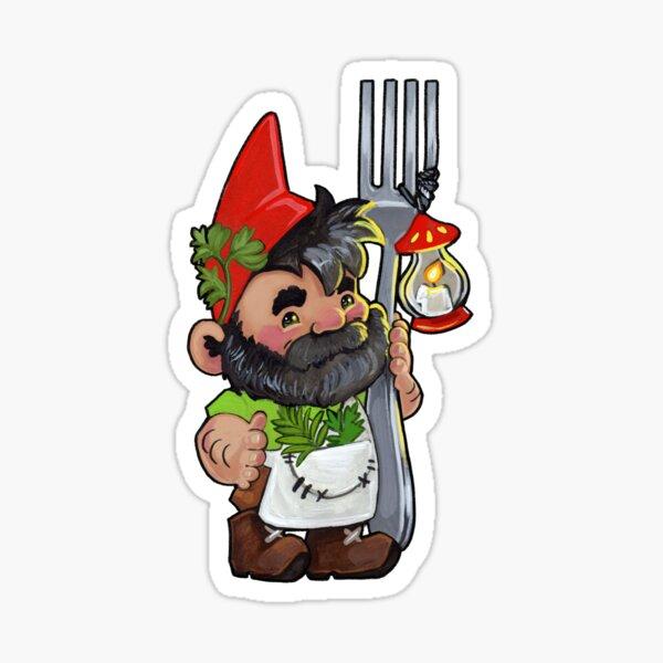 Kitchen gnome Sticker