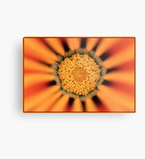 Flower Art Work Metal Print