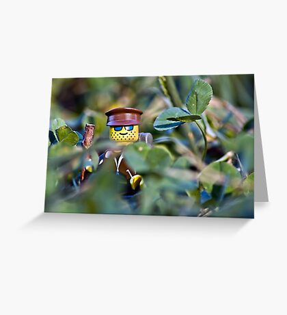Hiker Greeting Card