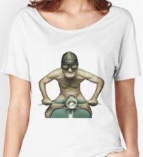 Scooter Man Shirt 2 Women's Relaxed Fit T-Shirt