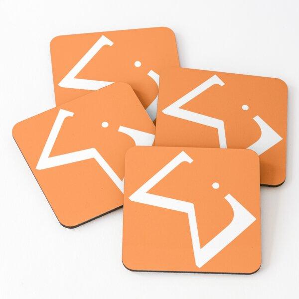 WiE Square Logo Coasters (Set of 4)