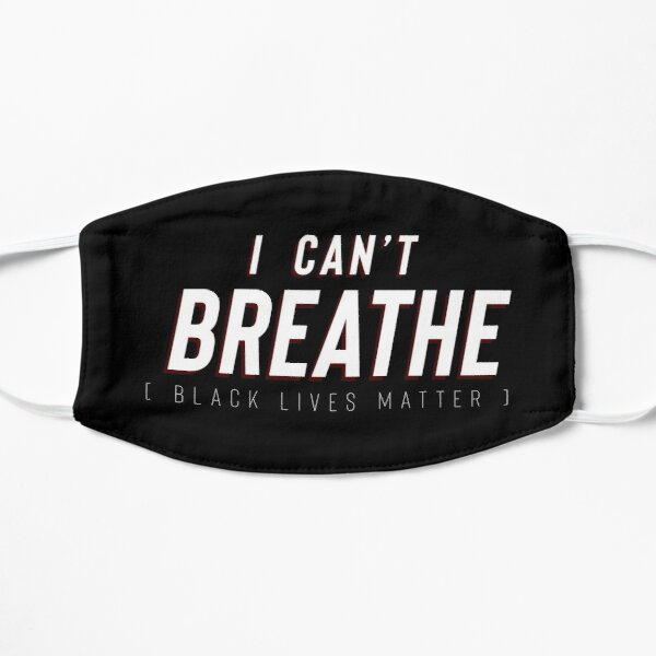 I Can't Breathe BLM Mask