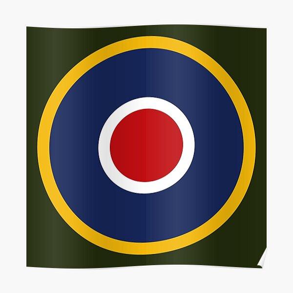 RAF Roundel Type C.1 Poster