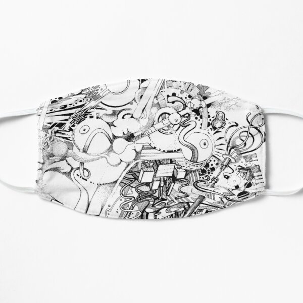 Add the Negative - Illustration - Color it yourself! Flat Mask