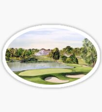 Congressional Golf Course Sticker