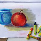 Petit Exercice En Pastel L'huile by Ginny Schmidt