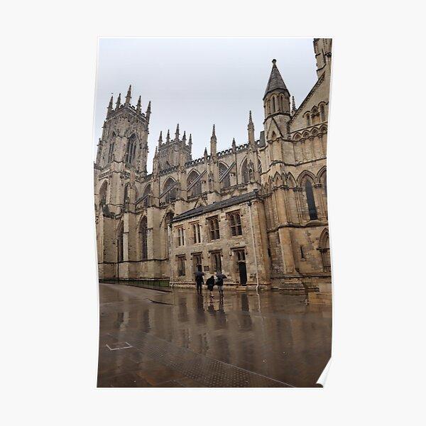 York Minster in the rain Poster