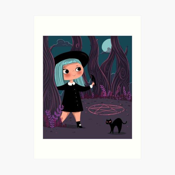 Lil' Witch Art Print