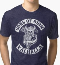 Sons Of Odin - Valhalla Chapter Tri-blend T-Shirt