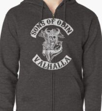 Sons Of Odin - Valhalla Chapter Zipped Hoodie
