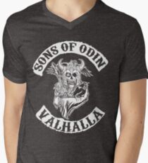 Sons Of Odin - Valhalla Chapter Men's V-Neck T-Shirt