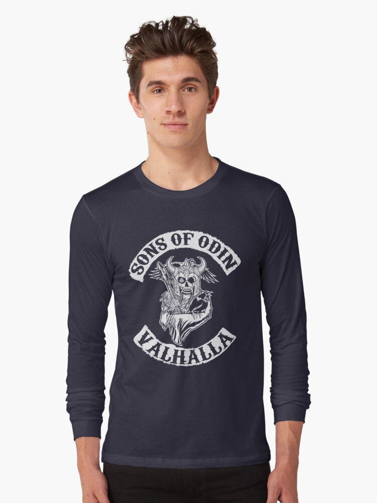 Sons Of Odin - Valhalla Chapter Long Sleeve T-Shirt Front