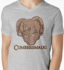 Cumbersmaug (Sepia)  Mens V-Neck T-Shirt