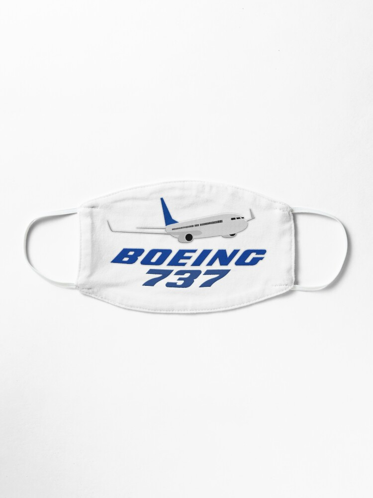 Alternate view of Boeing 737 Mask