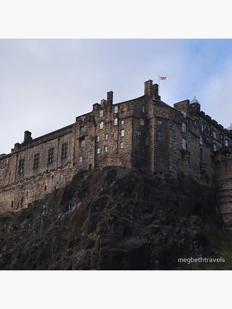 Edinburgh Castle from the Grassmarket by megbethtravels