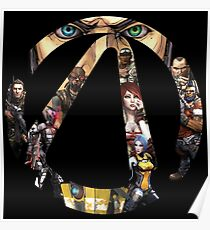 Borderlands - Characters and Vault Poster