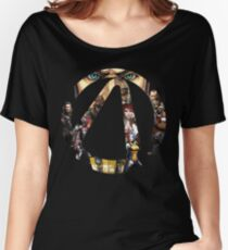 Borderlands - Characters and Vault Women's Relaxed Fit T-Shirt