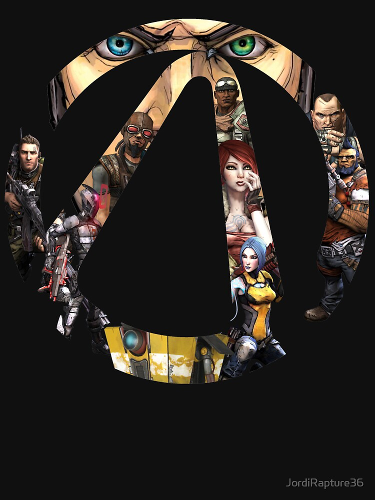 Borderlands - Characters and Vault | Unisex T-Shirt