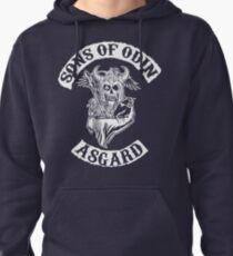 Sudadera con capucha Hijos de Odín - Capítulo de Asgard