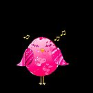 Pink Little Song Bird by Chazagirl