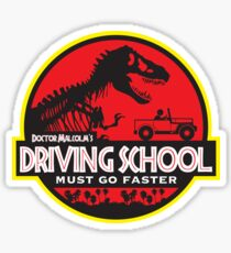 Doc Malcolm's Driving School Sticker