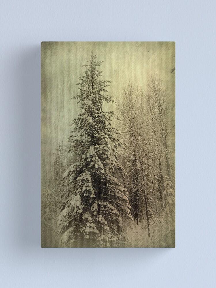 Alternate view of Winter Canvas Print