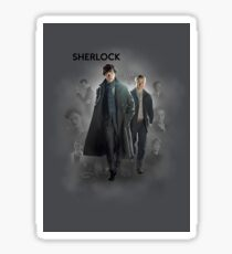 BBC Sherlock Sticker