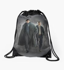 BBC Sherlock Drawstring Bag
