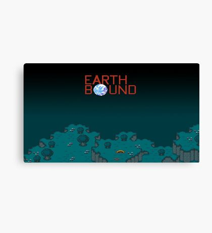 Earthbound Videogame Canvas Print
