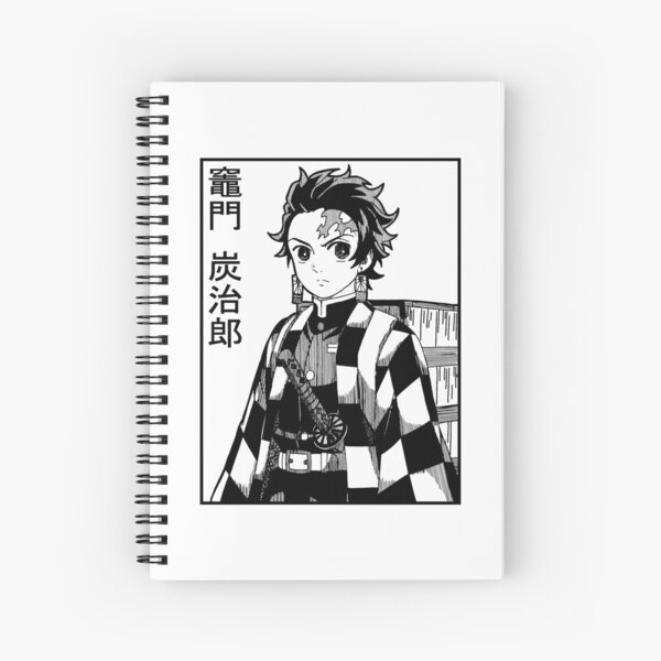 Tanjiro Demon Slayer Kimetsu No Yaiba | Anime Cuaderno de espiral