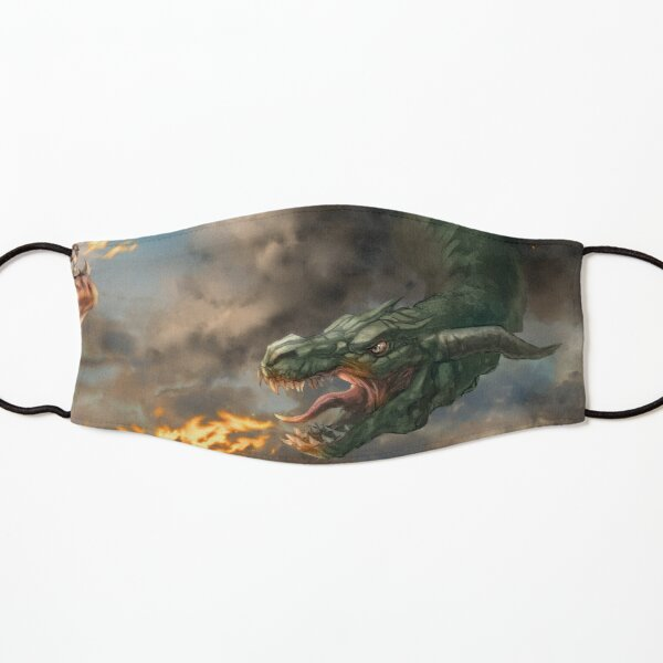 Dragon Fire Kids Mask
