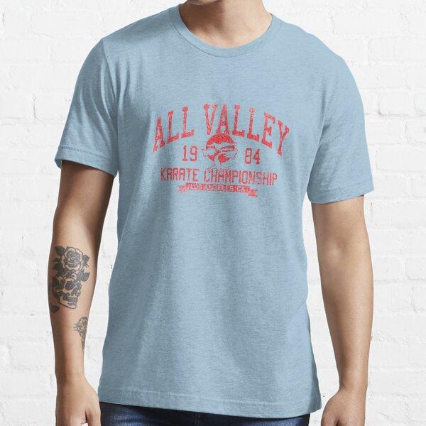 Campeonato de Karate All Valley 1984 Camiseta esencial