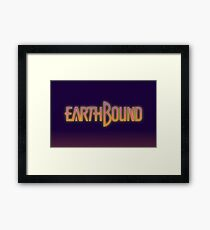 Earthbound text Framed Print