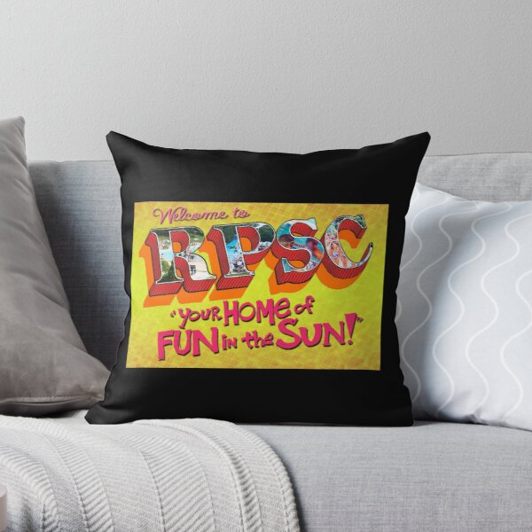 Welcome to RPSC Throw Pillow
