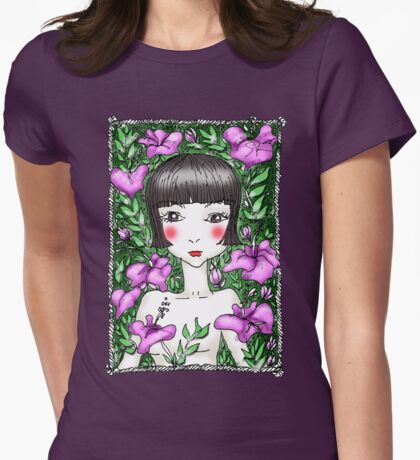 Hibiscus Garden Girl T-Shirt