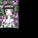 Hibiscus Garden Girl by iskamontero