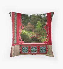 Biddulph Grange, Staffordshire Throw Pillow