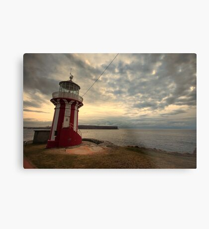 Leaning Lighthouse of Sydney Metal Print
