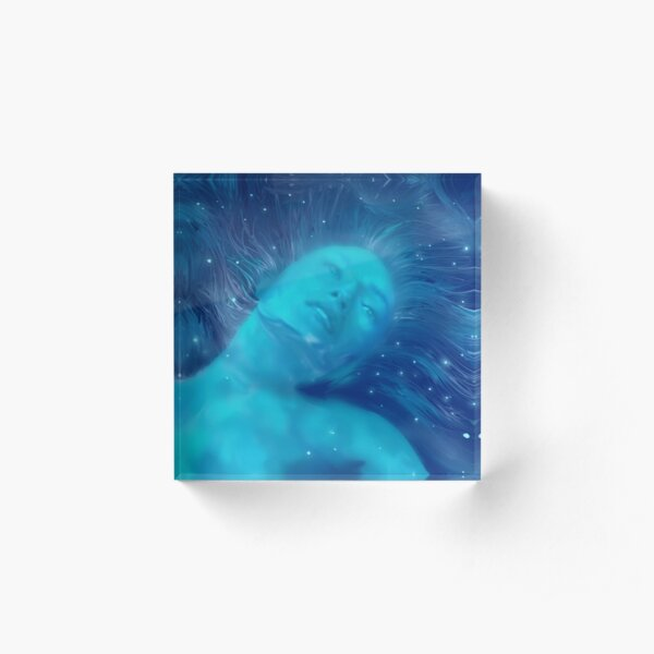 Julie Mao Protomolecule Acrylic Block