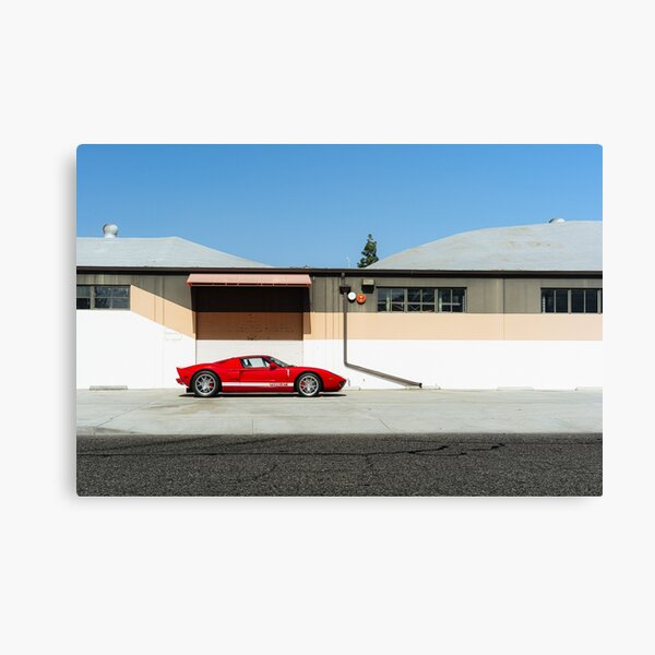 Industrial: Ford GT Canvas Print