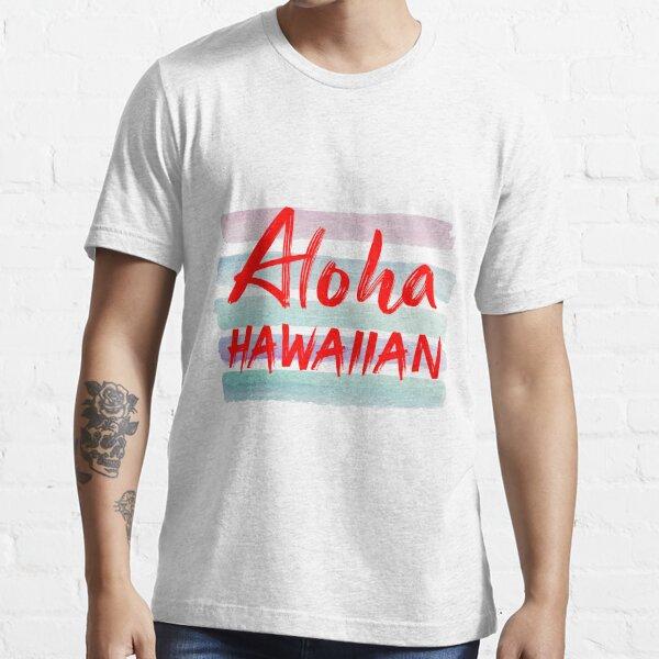 State Tourist Tour Travel Hawaiian Hawaii Vacation Proud Mens Red T-Shirt
