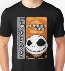 """Halloween Town """"Pumpkin King"""" - Pumpkin Beer T-Shirt"""
